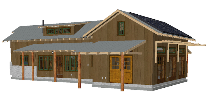 Wood Shop Building shop construction